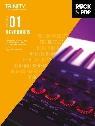 Trinity Rock & Pop Keyboard Grade 1 Book