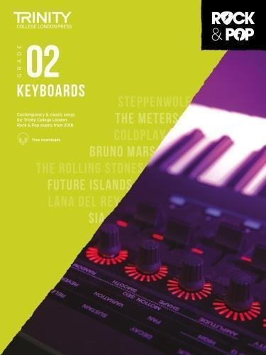 Trinity Rock & Pop Keyboard Grade 2 Book