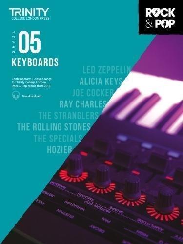 Trinity Rock & Pop Keyboard Grade 5 Book