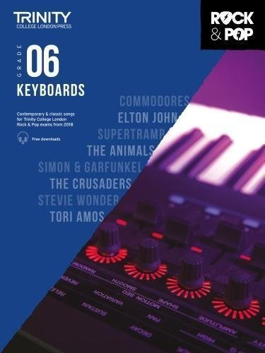 Trinity Rock & Pop Keyboard Grade 6 Book
