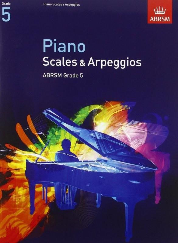 ABRSM Piano Arpeggios and Scales Grade 5 Book