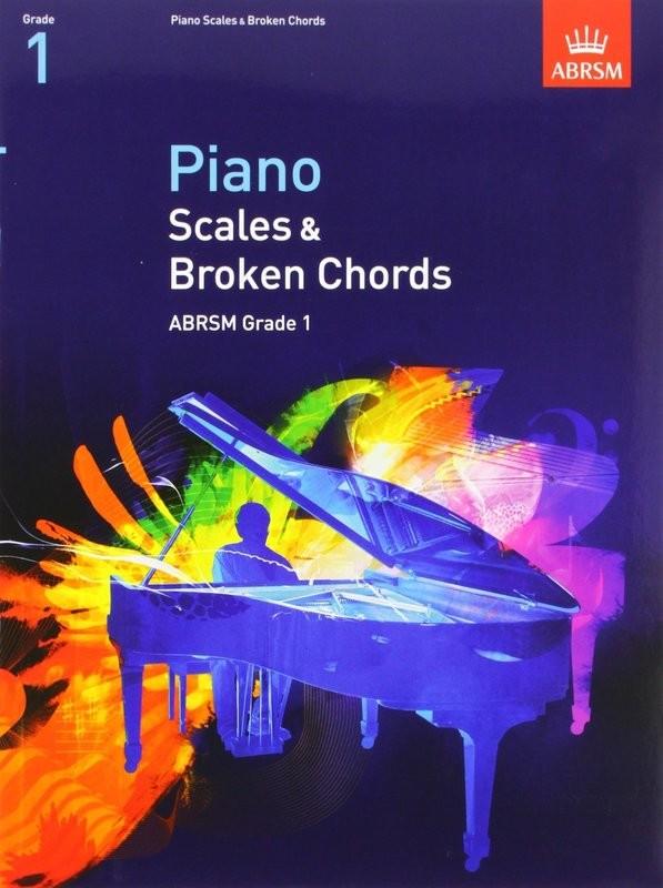 ABRSM Piano Scales and Broken Chords Grade 1 Book