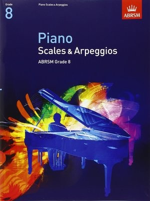 ABRSM Piano Arpeggios and Scales Grade 8 Book