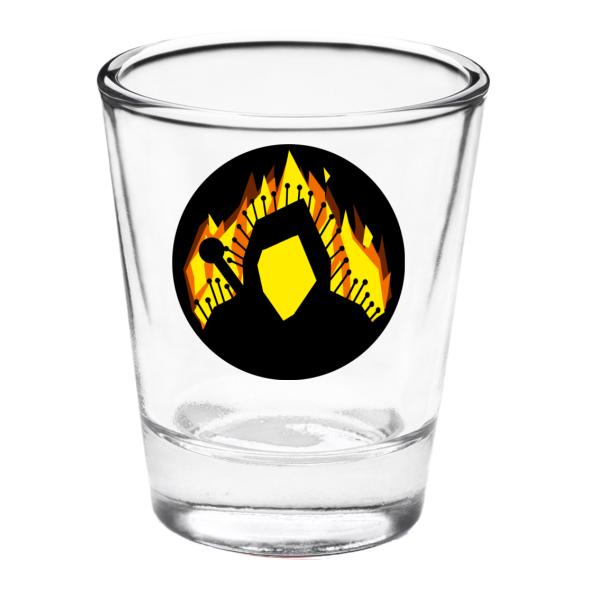 Gürschach Shot Glass