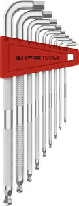 3212LH-10 Knurled Hex Key Set