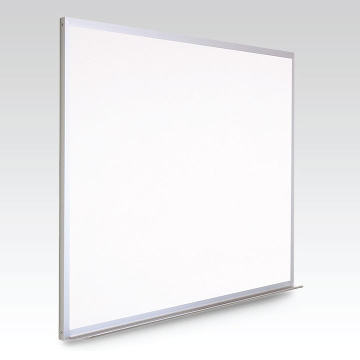 18 x 24  Magnetic Plain Dry Erase Whiteboard (w/ optional marker tray)