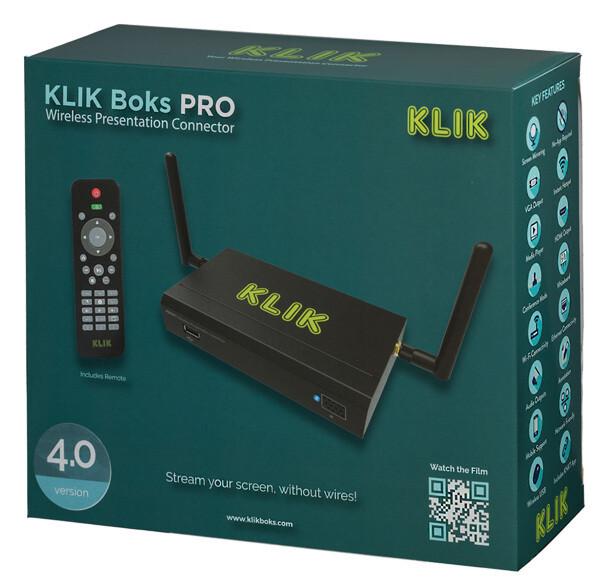 KLIK Boks PRO - Wireless Presentation System