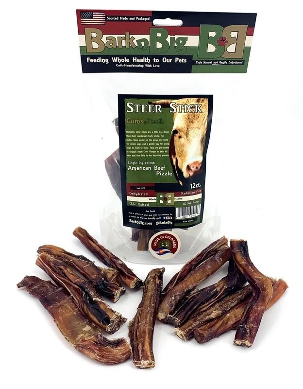 """Beef Steer Stick 4-6"""" (12ct.)"""