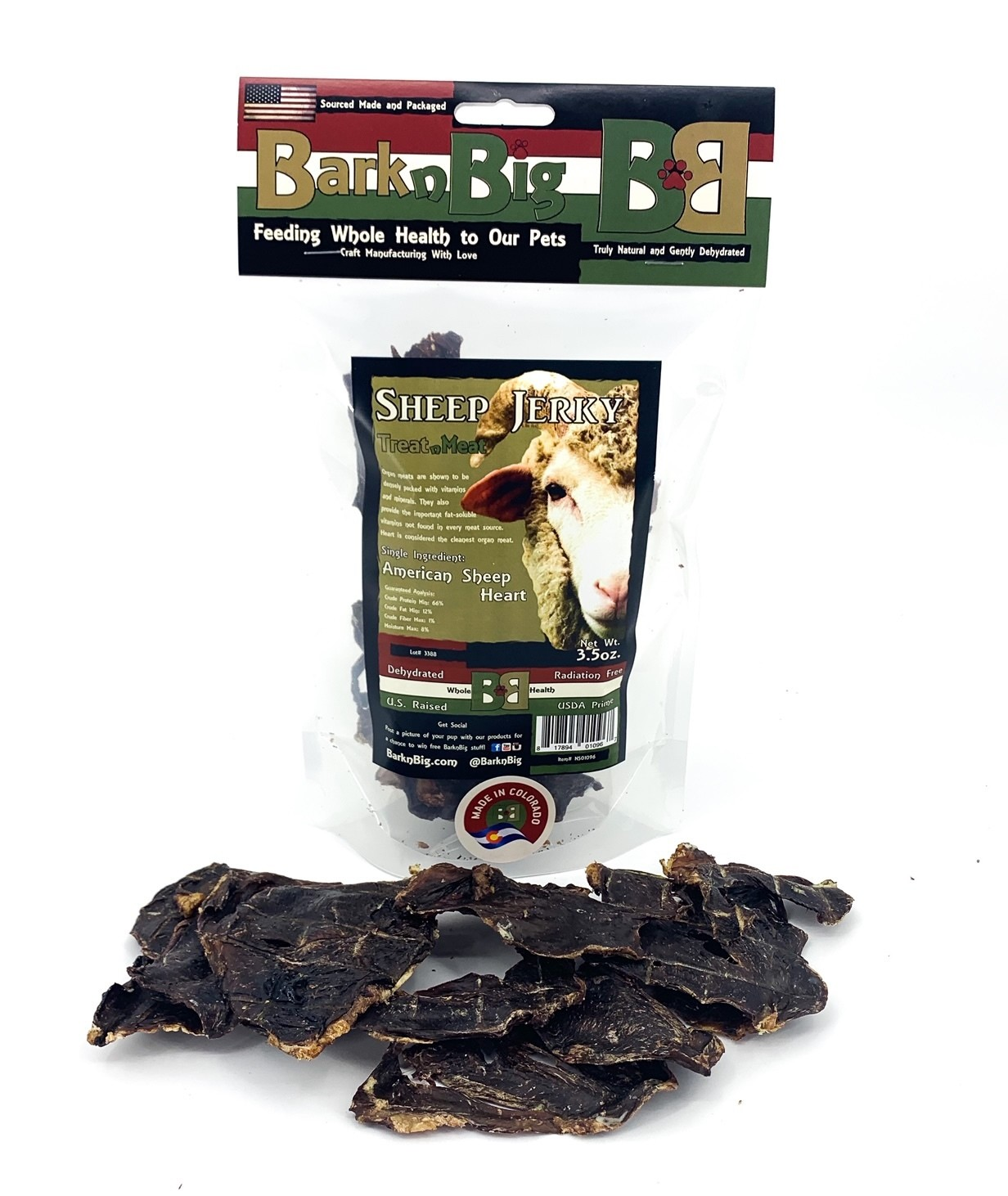 Sheep Jerky 3.5oz