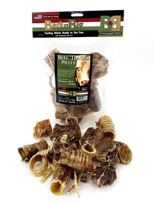 Beef Trachea Moo-Hoo Pieces 10oz.