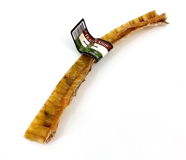 """Beef Trachea Moo-Hoos Strips 9""""+"""