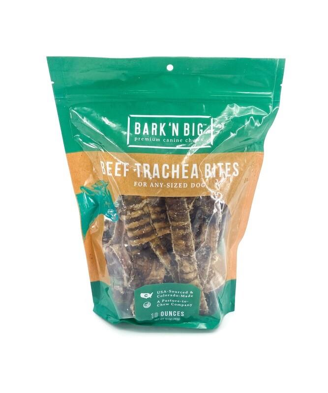 Beef Trachea Moo-Hoo Pieces 10oz.