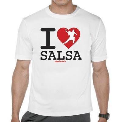 I LOVE SALSA (blanc)