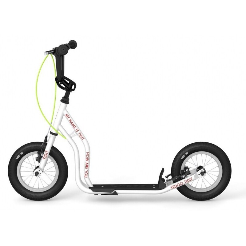 FootBike - Trottinette sportive : YEDOO NEW TIDIT WHITE