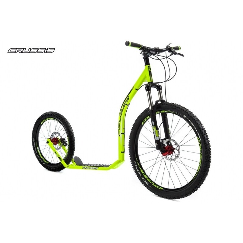 FootBike - Trottinette sportive :  CRUSSIS CROSS 6.1 VERT 26/20 HD