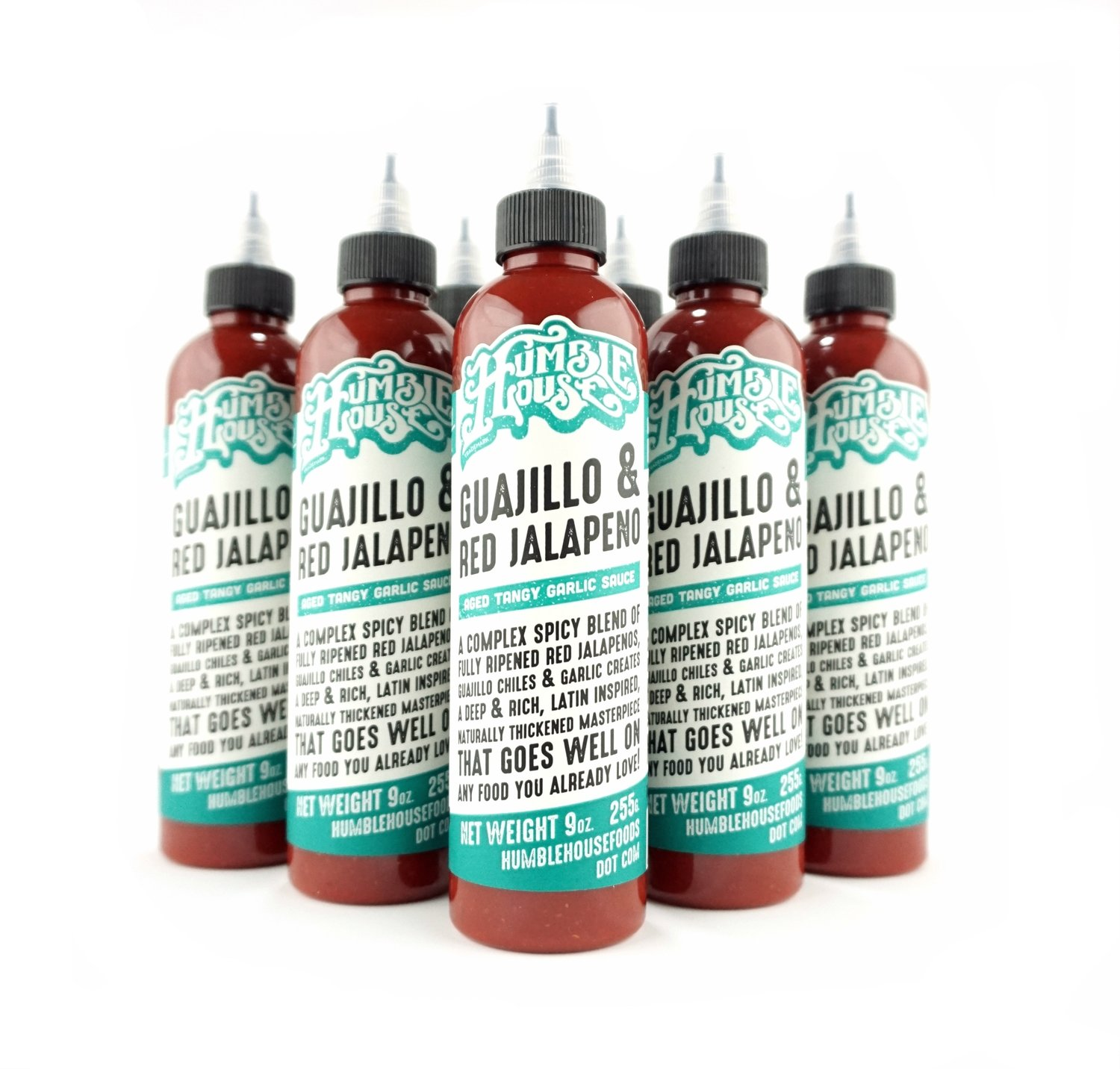 Case of Guajillo & Red Jalapeno Hot Sauce