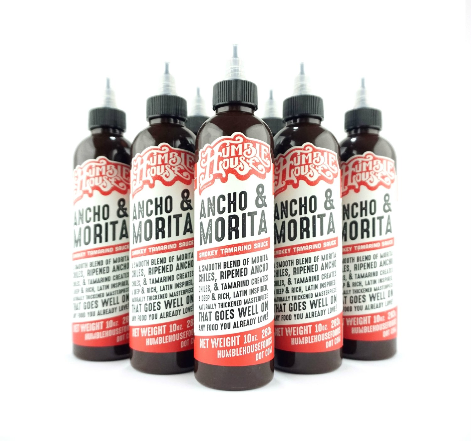 Case of Ancho & Morita Hot Sauce