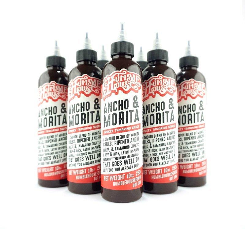 Case of Ancho & Morita Hot Sauce