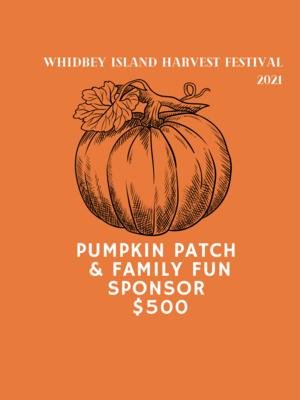 Pumpkin Patch and Family Fun Sponsor
