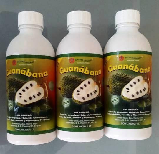 EXTRACTO DE GUANABANA, 100% NATURAL
