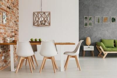 Wooden Light Fixture