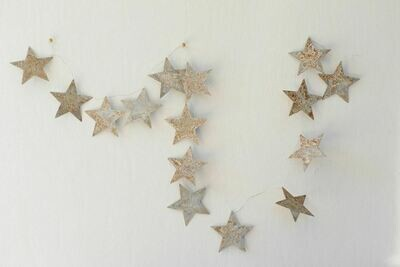 Tin Star Garland