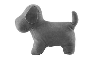 Lil Pyar - Gray Puppy Soft Bookend