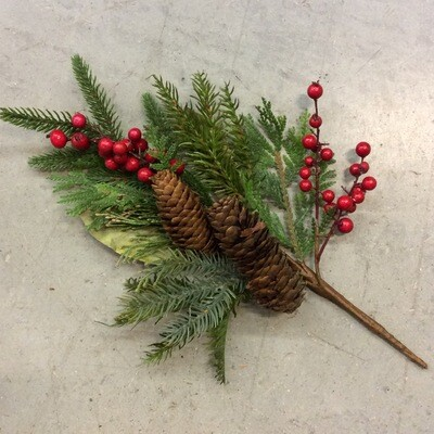 Pick - Pinecone, Berry & Greenery