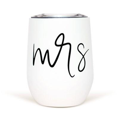 Mrs. Metal Wine Tumbler