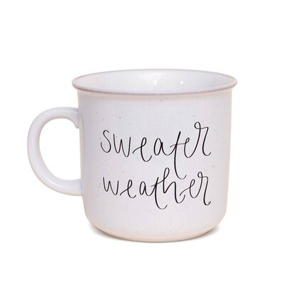 Sweater Weather Rustic Campfire Coffee Mug