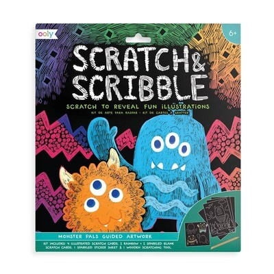 OOLY - Scratch & Scribble - Monster Pals