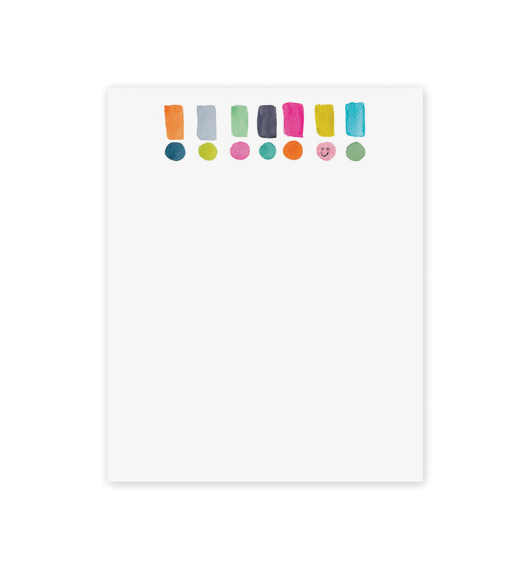 Mini Notepad 4x5 - Exclamation