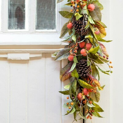 Persimmon Table Garland