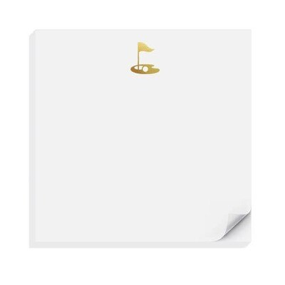 Inclosed Letterpress Co. - Golf Charmpad