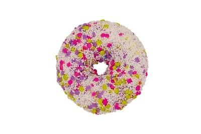 Lavender Fizz Donut Bath Bomb