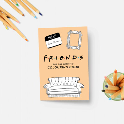Party Mountain Paper co. - Friends Colouring Book