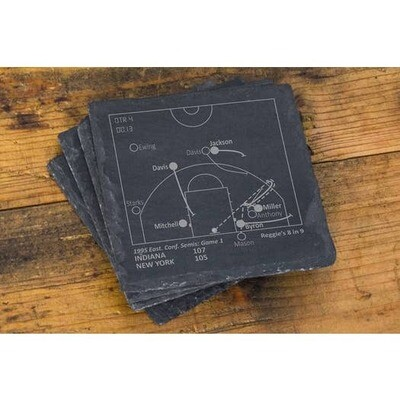 Slate Coasters - Indiana Pacers Greatest Plays