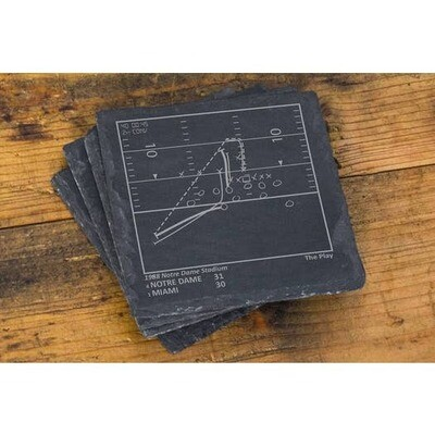 Slate Coasters - Notre Dame Football Greatest Plays