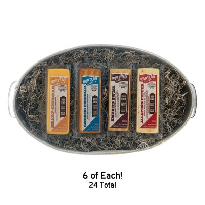 Hunter's Reserve - Wisconsin 4oz Cheese Bar Variety Pack