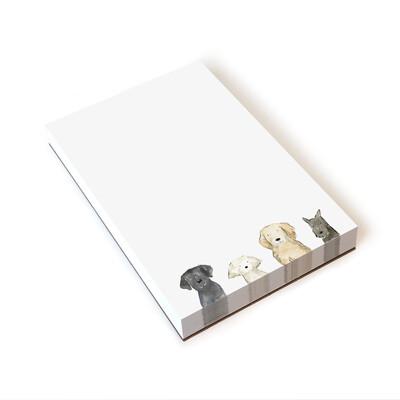 Dog Days Notepad 5.5 x 8.5