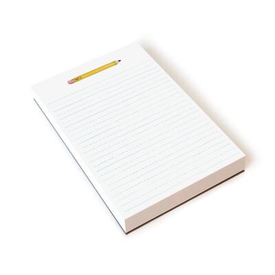 Pencil Notepad 8.5x5.5