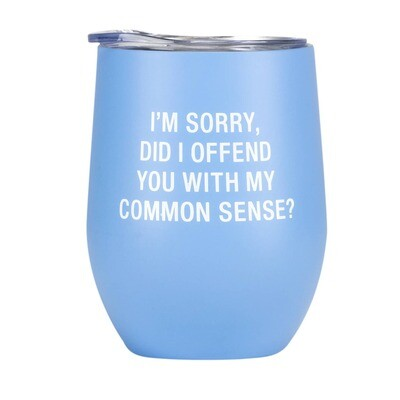 Common Sense Insulated Wine Glass