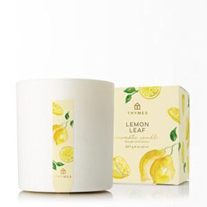 Candle-Lemon Leaf