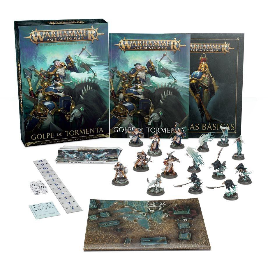 Games Workshop - Warhammer Age of Sigmar: Golpe de tormenta