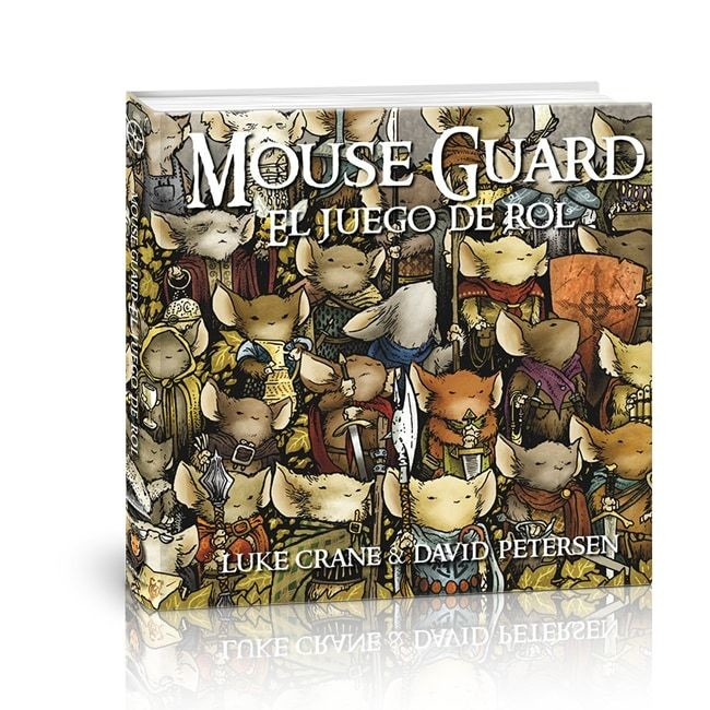 Holocubierta - Mouse Guard