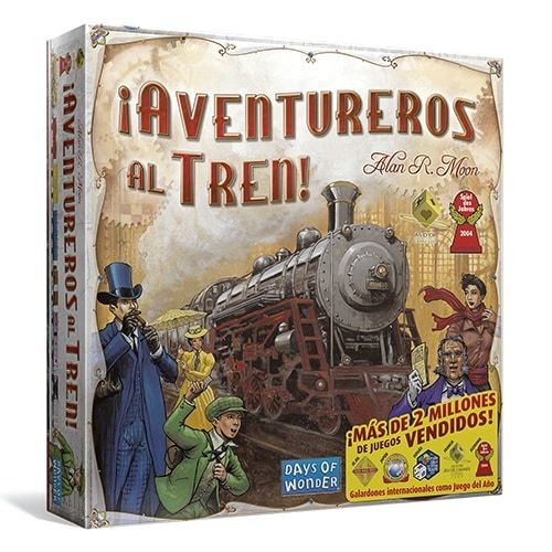 Days of Wonder - ¡Aventureros al tren!