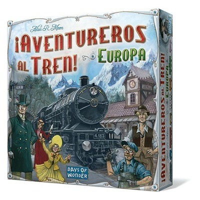 Days of Wonder - ¡Aventureros al tren! Europa
