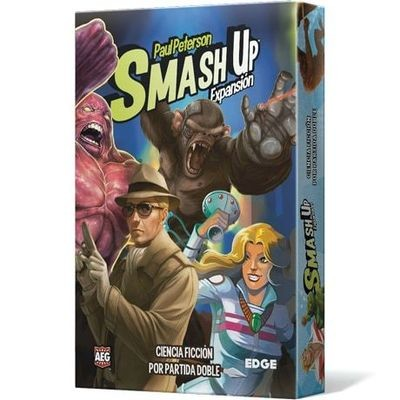 AEG - Smash Up: Ciencia ficción por partida doble