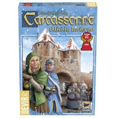 Devir - Carcassonne: Edición de Invierno