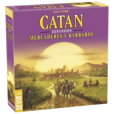 Devir - Catan: Mercaderes y Barbaros
